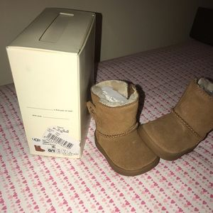 Baby size 0/1 UGG boots worn twice